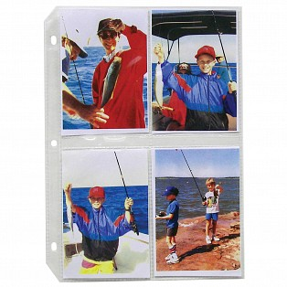 C-Line Products 35mm Ring Binder Photo Storage Pages