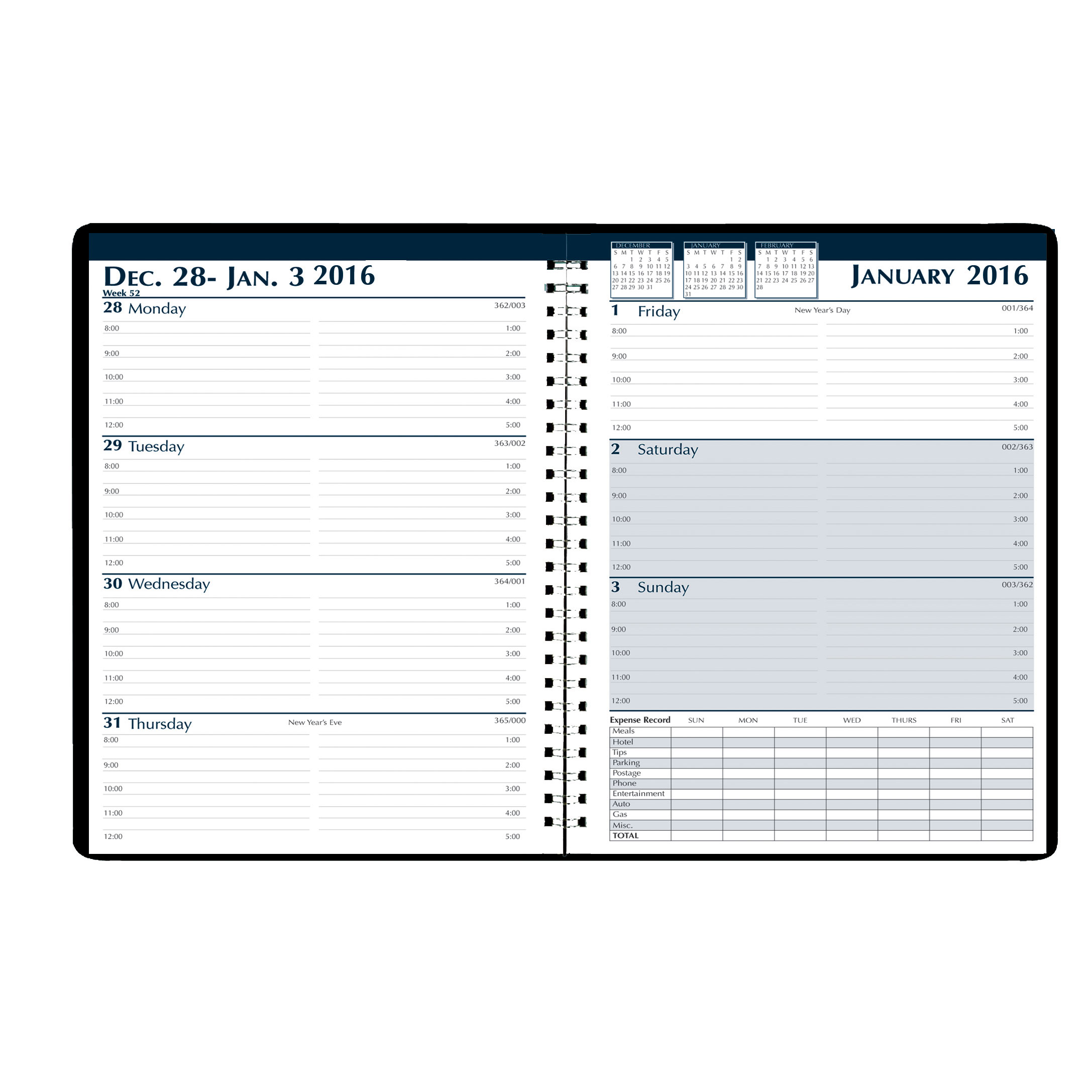 House of Doolittle Weekly Expense Planner
