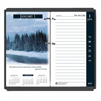 House of Doolittle Earthscapes Desk Calendar Refill