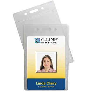 ID Badge Holders - Lanyards & ID Accessories - C-Line Products ...