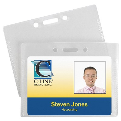 C-Line Products Proximity ID Badge Holders