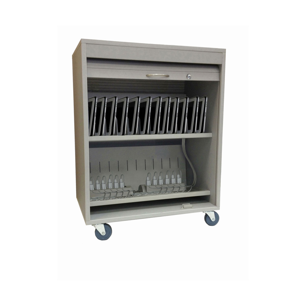 Buddy Products Economy Security Tablet Cart