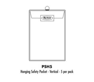 Tarifold Safety Hanging Pocket
