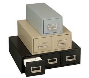 Card Cabinets