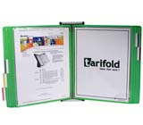 Tarifold Wall Unit Organizer - Green Pockets