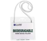 C-Line Products Biodegradable Name Badge Holder Kit