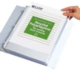 Recycled Polypropylene Sheet Protectors