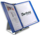 Tarifold Desktop Organizer - Blue Pockets