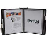 Tarifold Wall Unit Organizer - Black Pockets
