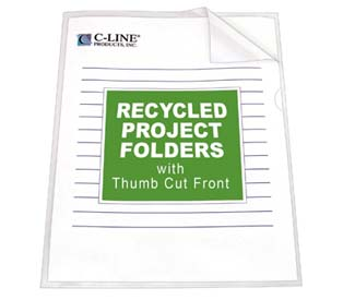 C-Line's Recycled Project Folder