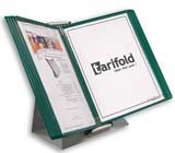 Tarifold Desktop Organizer - Green Pockets